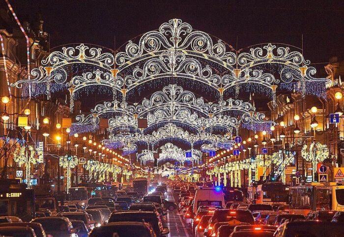 Как украсят Санкт-Петербург к Новому году